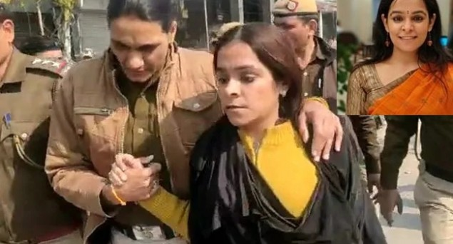 BJP Supporter Gunja Kapoor, Followed by PM on Twitter, Caught in Burqa at Shaheen Bagh