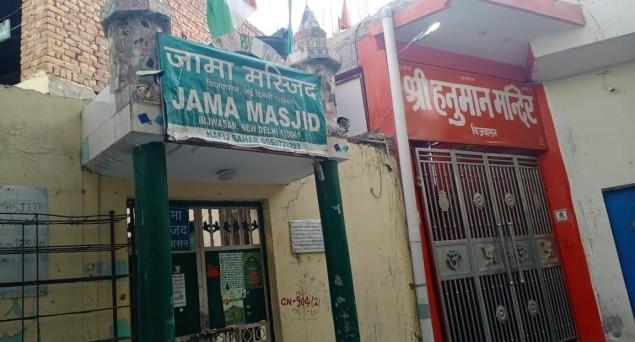 Bijwasan Mosque: Miscreants Lock It, Police Unlocks
