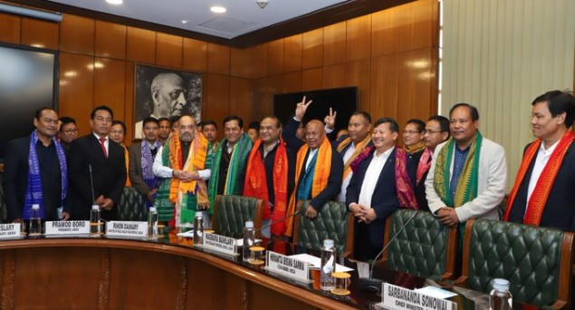 Centre Signs Tripartite Peace Accord with Bodo Militants; Anxiety among Non-Bodos