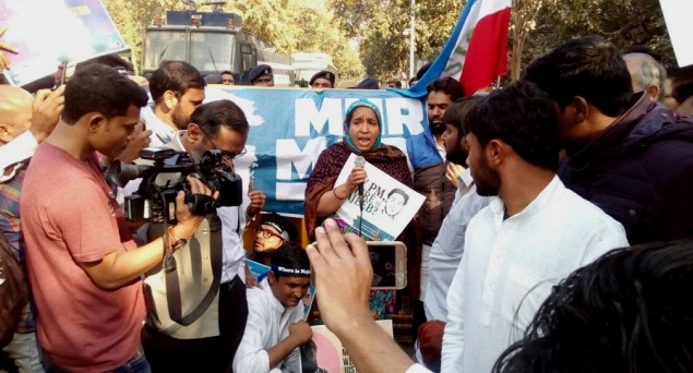 'If Modi is UP's son, he should find out his missing brother Najeeb'