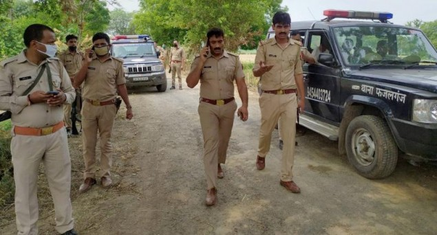 UP Police:: Questions Being Raised About Claims of Alleged