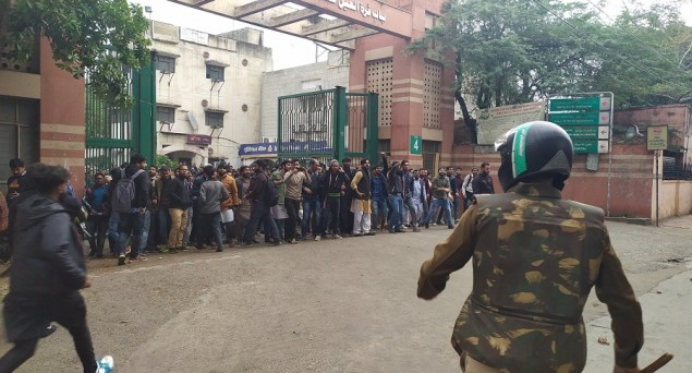 Jamia Protest: Police Files FIR against 3 Students, 4 Local Politicians; 10 Others Sent to Jail