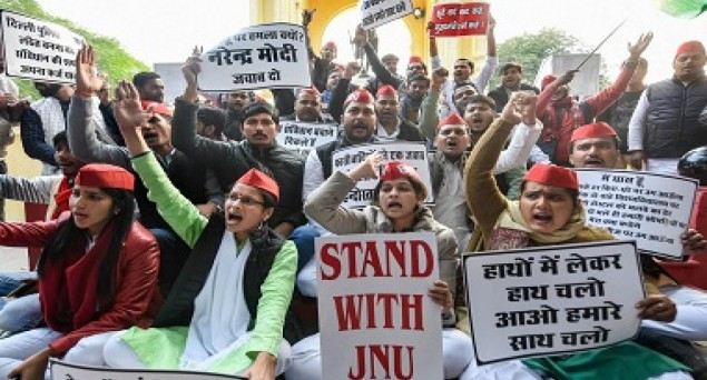 Several Youth Organisations From Across India Condemn JNU Violence