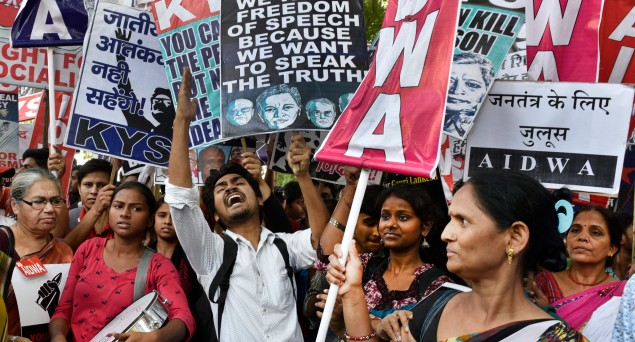 Journalists In India Facing Threat and Intimidation For Criticising The Government