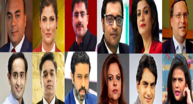 The Dirty Game Pro-Hindutva TV Channels And Their Anchors Play