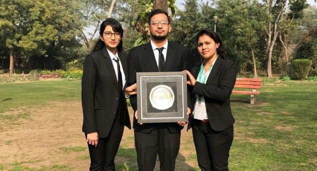 Jamia Millia's Law Students Win Best Memorial Award At International Criminal Law Moot Court Competition