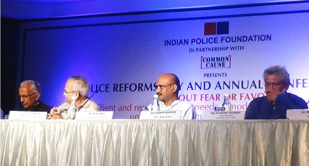 'Police reform can't be achieved without political and judicial reforms'