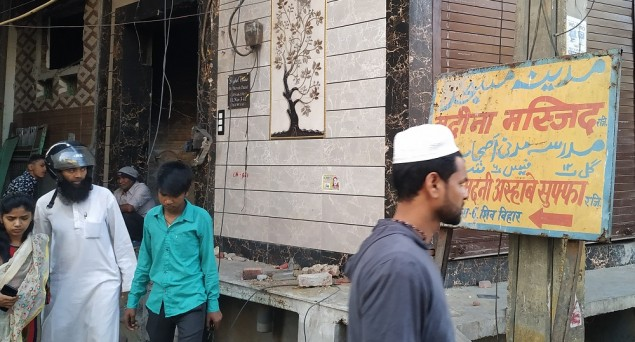 Idea of Plural Neighbourhood Shattered: When Two Neighbours - Mosque and Naresh Chand's House - Were Torched by Rioters