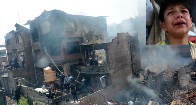 Kashmir Tragedy: Security Forces Raze Entire Moholla in Pursuit of Two Militants