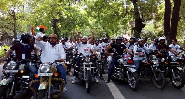 #UnitedAgainstHate: Impressive Bike Rally Taken out against Lynching