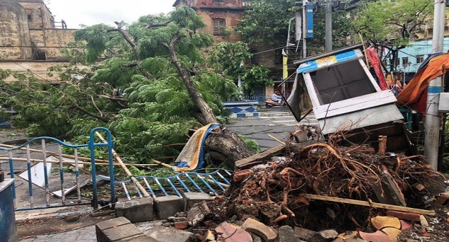 Savage Cyclone Amphan Leaves Death, Destruction in West Bengal