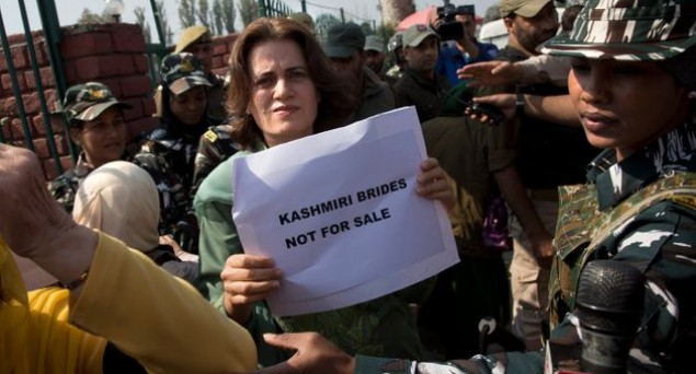 'Kashmiri Brides Not For Sale', Women Groups In Srinagar Protest Against Abrogation of Article 370